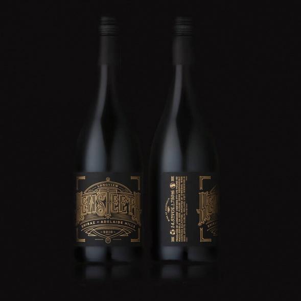 Дизайн упаковки вина Hen'