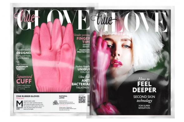 Дизайн упаковки перчаток
