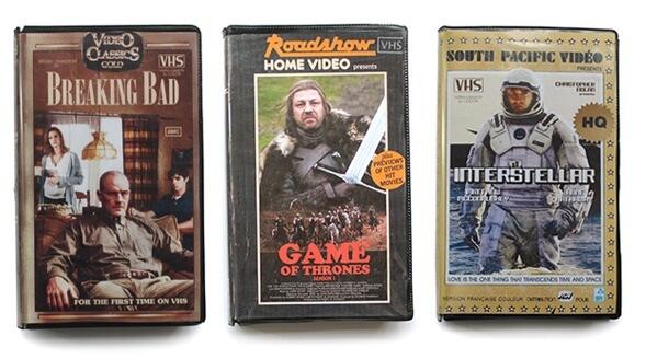 Современные сериалы и фильмы в стиле VHS