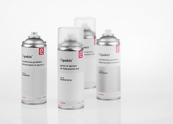 Дизайн упаковки аэрозольных красок