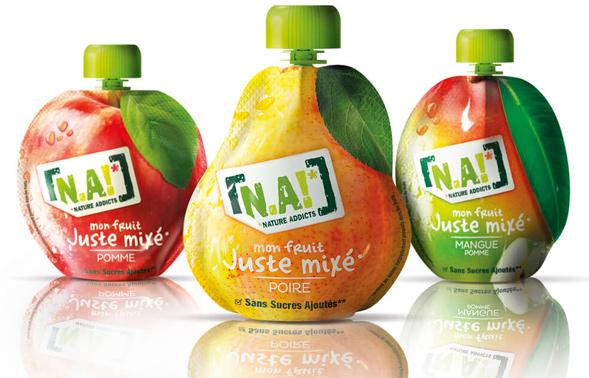 Дизайн упаковки фруктовых пюре