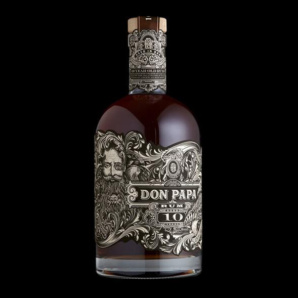 Дизайн упаковки филиппинского рома Don Papa