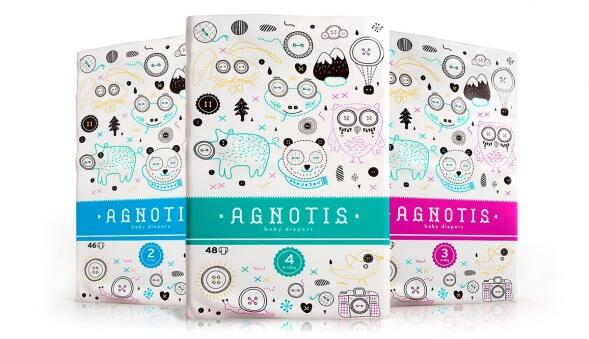 Дизайн упаковки подгузников