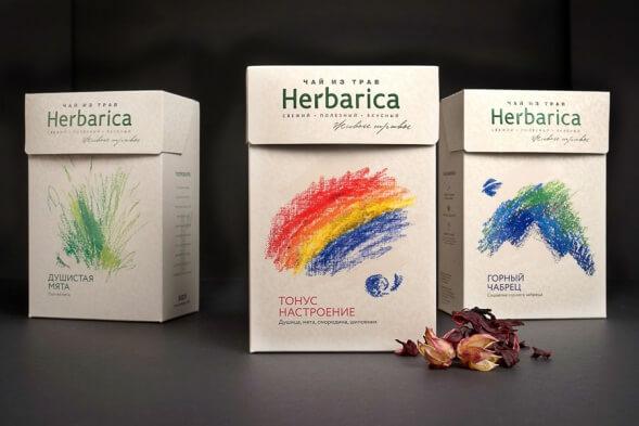 Дизайн упаковки травяного чая