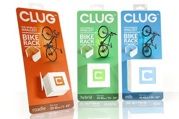 Дизайн упаковки аксессуаров для велосипедов Clug