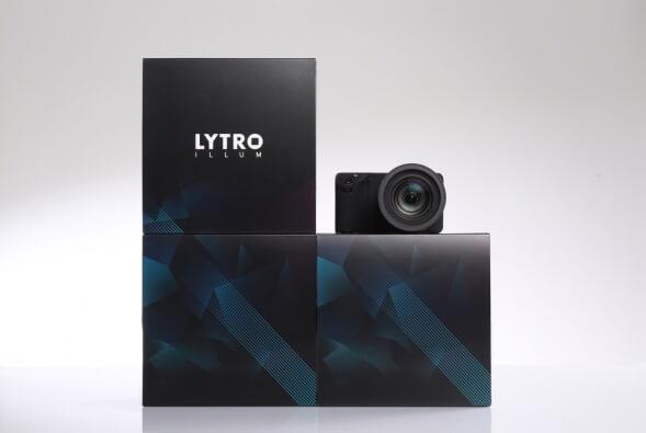 Дизайн упаковки фотокамеры LYTRO
