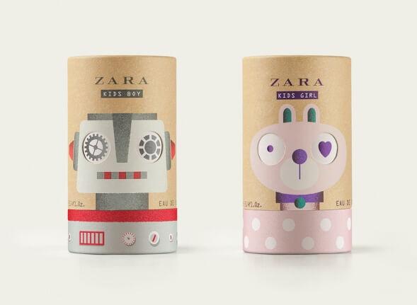 Дизайн упаковки детских духов