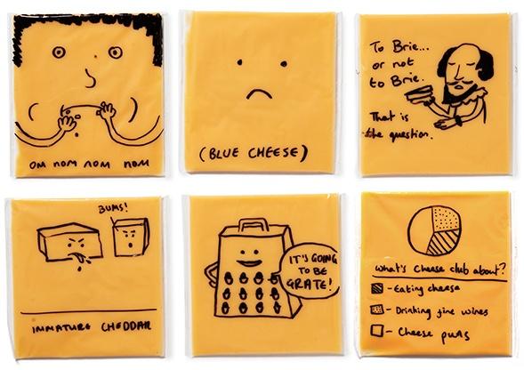 Дизайн упаковки сыра