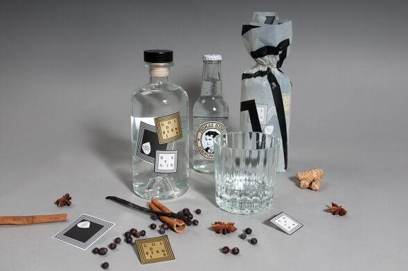 Дизайн упаковки джин