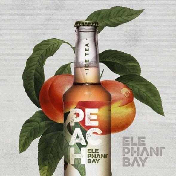 Дизайн упаковки холодного чая Elephant Bay