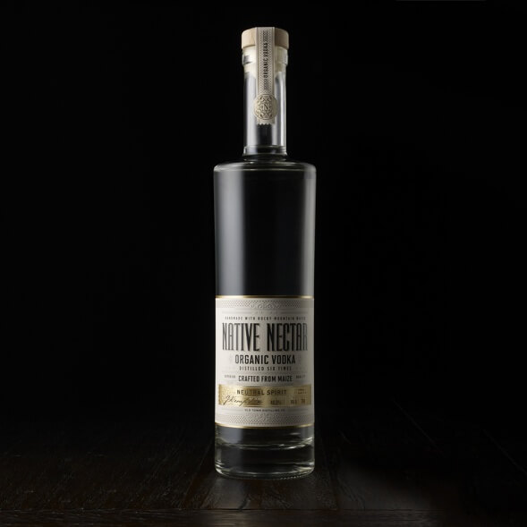 Дизайн упаковки водки Native Nectar