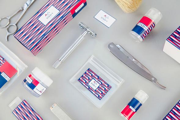 Брендинг принадлежностей для бритья