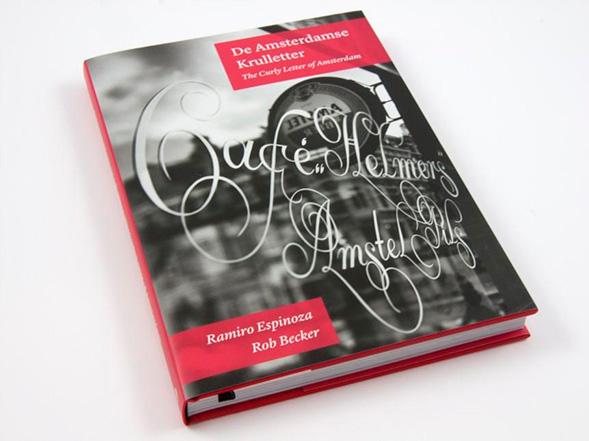 Вышла книга о фирменном амстердамском леттеринге