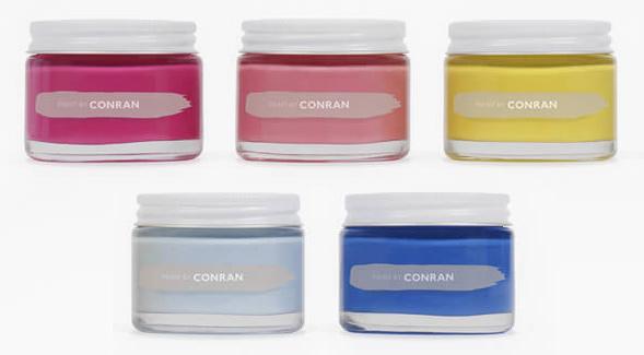 Дизайн упаковки декоративных красок Conran