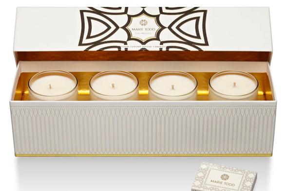 Дизайн упаковки свечей Marie Todd