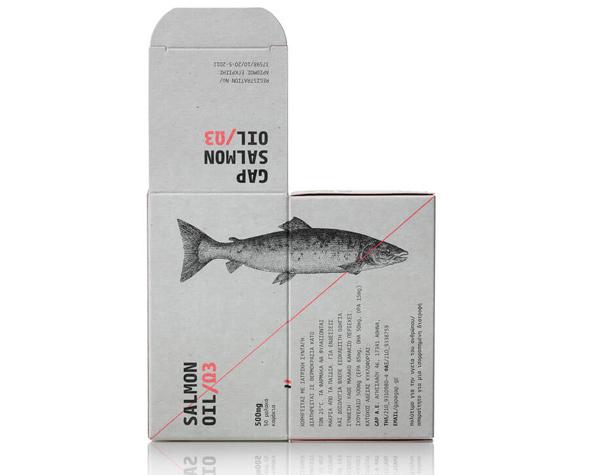 Дизайн упаковки рыбьего жира