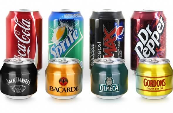 Концепт упаковки алкогольного коктейля