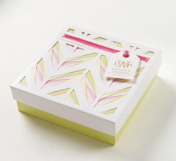 Дизайн упаковки мыла - конструкции из картона UWP Luxe
