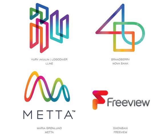 Тренды в логотипах