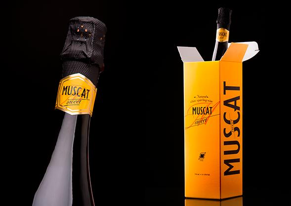 Дизайн упаковки игристого вина