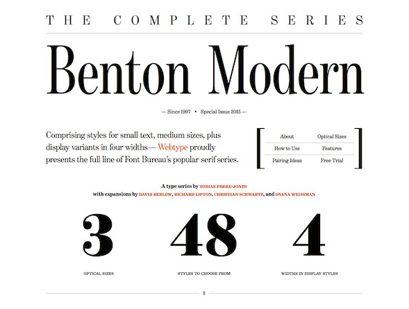 Типографика в вебе