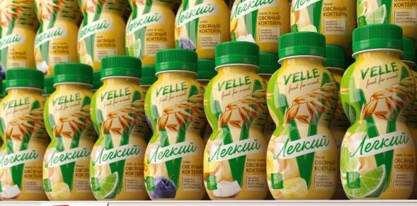 Редизайн упаковки молочных продуктов
