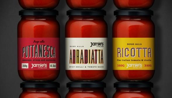 Дизайн линейки итальянских традиционных продуктов