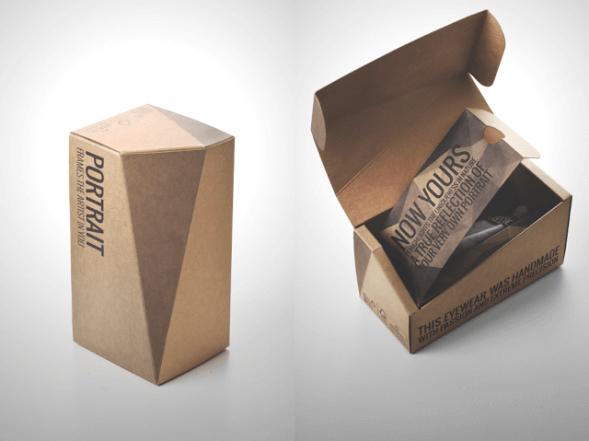 Дизайн упаковки очков