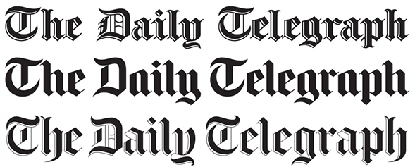 История логотипа The Daily Telegraph