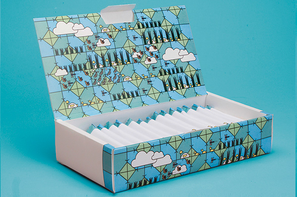 Дизайн упаковки батончиков