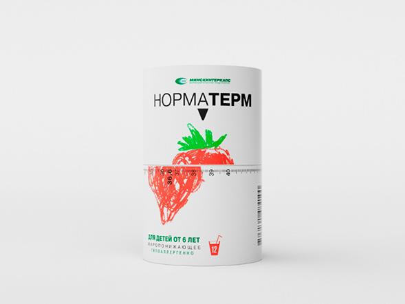 Концепт упаковки жаропонижающего