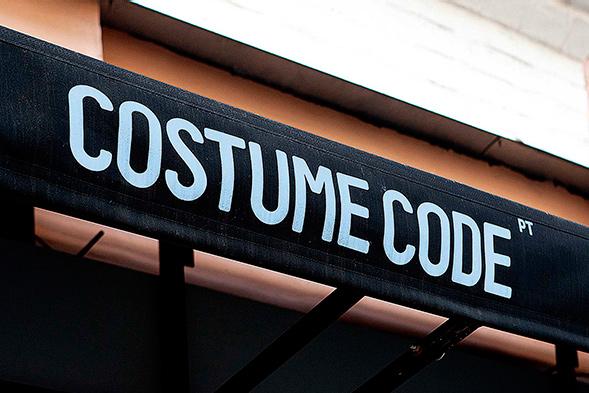 Фирменный стиль магазина мужских костюмов