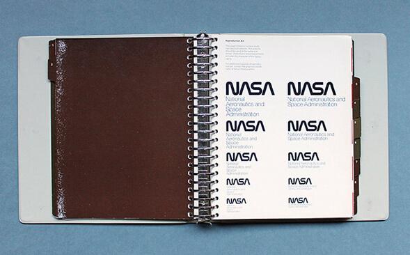 Айдентика NASA
