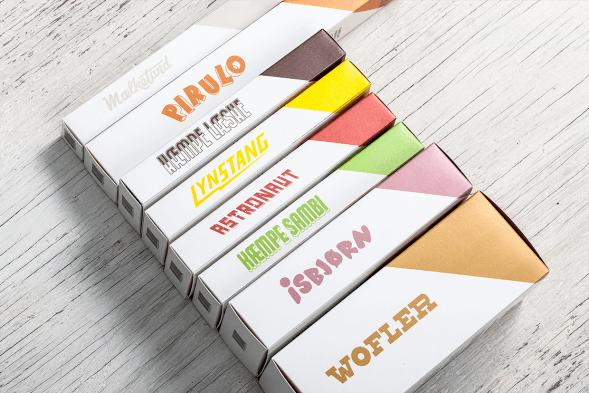 Дизайн упаковки мороженного