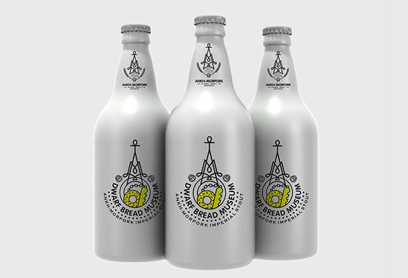 Концепт упаковки крафтового пива