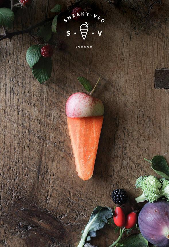 Айдентика блога о еде