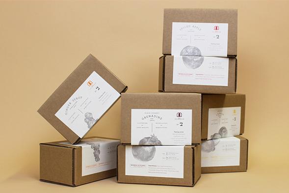 Дизайн упаковки сиропов