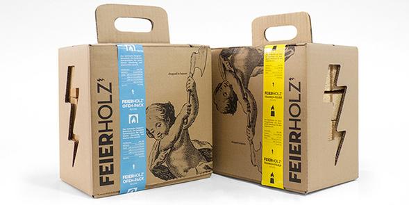 Дизайн упаковки дров