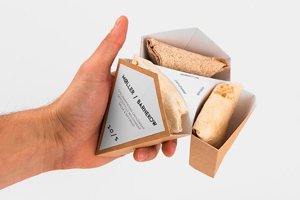 Дизайн упаковки сендвичей