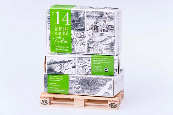 Дизайн упаковки морепродуктов