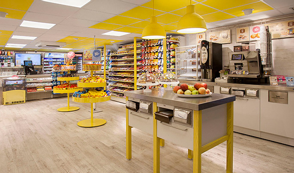 Фирменный стиль продуктового магазина