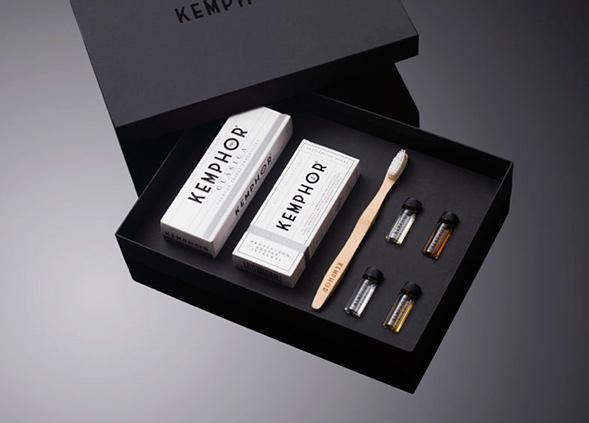 Дизайн упаковки набора для чистки зубов