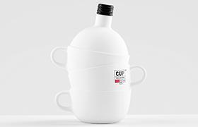 Концеп дизайна бутылки