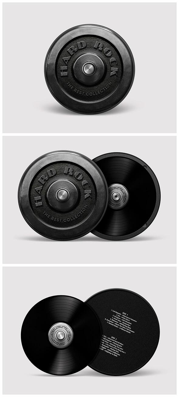 Концепт упаковки диска