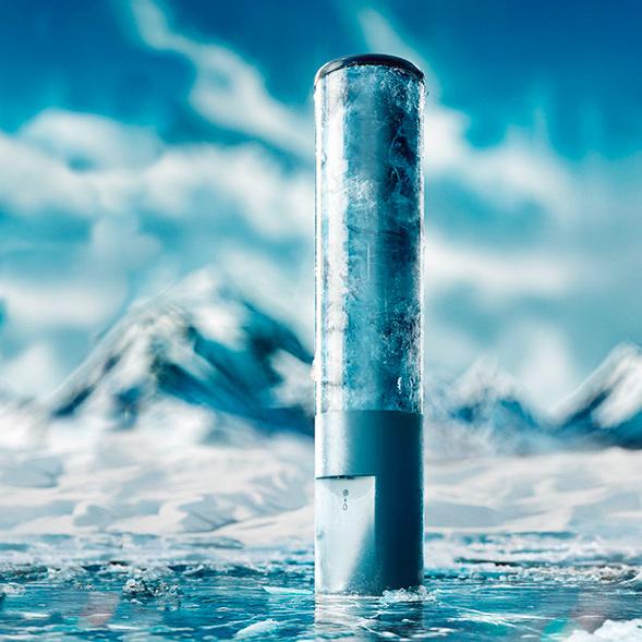 Концепт упаковки воды
