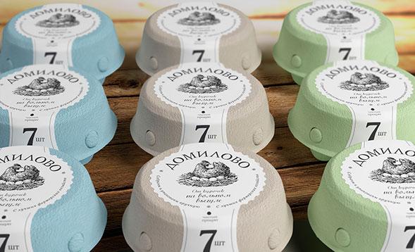 Дизайн упаковки яиц
