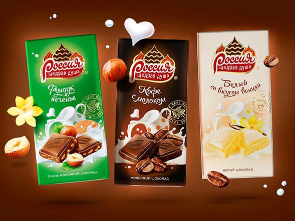 Редизайн упаковки шоколада