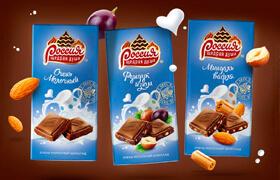 Редизайн шоколада «РОССИЯ» — ЩЕДРАЯ ДУША!»