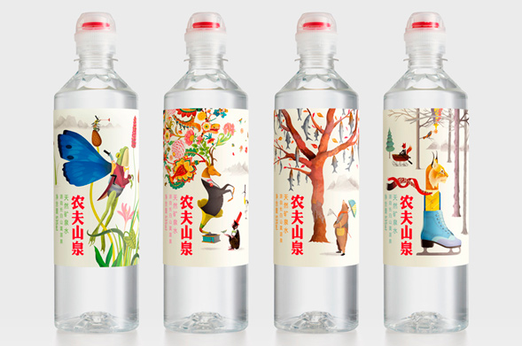 Дизайн упаковки минеральной воды
