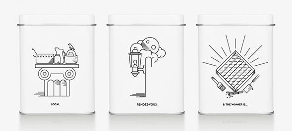 Дизайн упаковки пахлавы